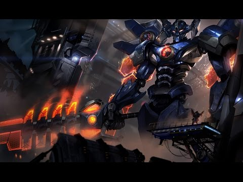 Mecha Aatrox (Updated Sound Effects) (видео)