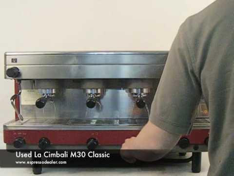 Used La Cimbali M30 Classic Espresso Machine