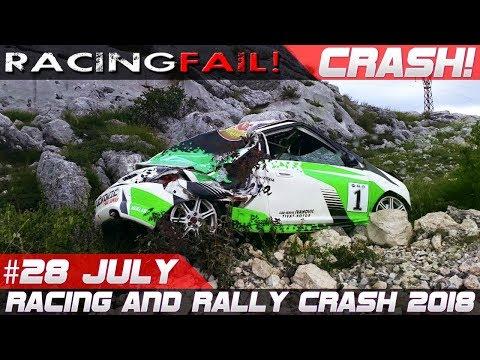 Racing and Rally Compilation Week 28 July 2018 | RACINGFAIL