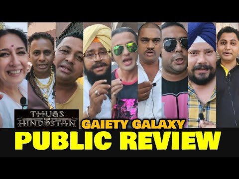 Thugs Of Hindostan Public Review at GAIETY GALAXY | Amitabh Bachchan, Aamir Khan | Honest Review