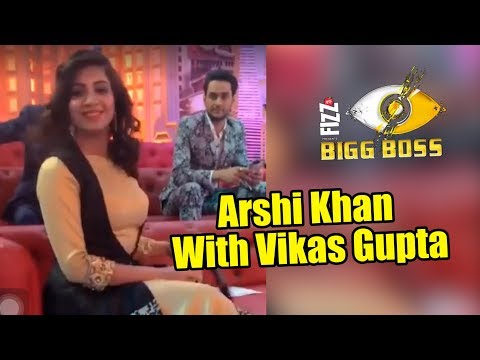 Arshi Khan With Vikas Gupta On Entertainment Ki Raat Show