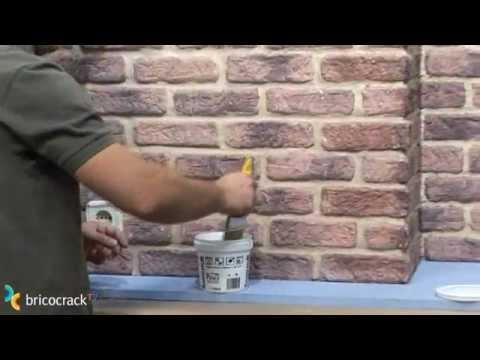 Zocalo imitacion ladrillo videos videos relacionados - Plaqueta decorativa piedra ...