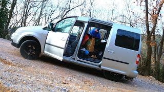 Natural Gas Powered Mobile Home Van Travelling South Vlog Stop Reading This Title by Mani the Monkey