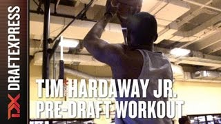 Tim Hardaway Jr. - 2013 NBA Pre-Draft Workout & Interview
