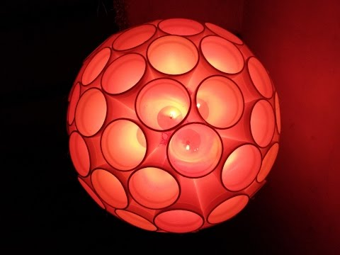 Best DIY Home Decor : How To Make Light Ball At Home I  Creative Diaries
