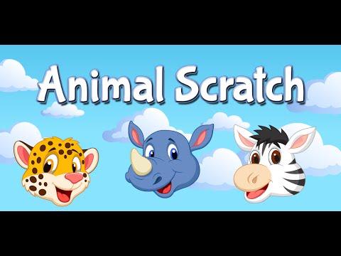 Video of Kids Zoo Animals Scratch