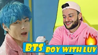 Video FIRST TIME Reacting to BTS - Boy With Luv  |  BTS COMEBACK SONG MP3, 3GP, MP4, WEBM, AVI, FLV Juli 2019