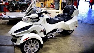 9. All New 2014 Can Am Spyder RT! - 1st Real Test Ride!  | TestRides