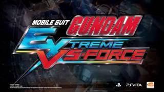 BANDAI NAMCO Entertainment America Inc. anunció que su más reciente juego de la franquicia Gundam Extreme, MOBILE SUIT GUNDAM EXTREME VS-FORCE saldrá a la ve...