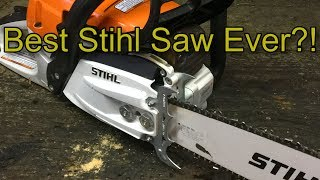 6. How To: Stihl Double Dogs (Spikes) MS 261 CM