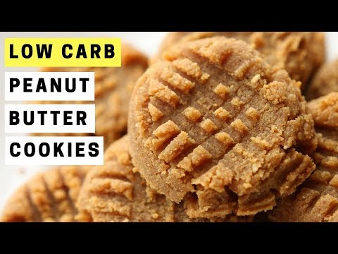 Low carb diet - 3 Ingredient Peanut Butter Cookies Recipe  LOW CARB and Great For KETO