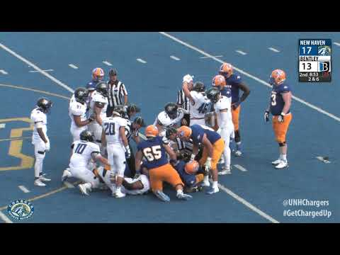 Highlights Of Bentley S Win At Merrimack 9 16 17 Bentley