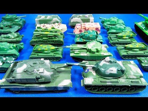 Bolsa de Soldados - ¡COLECCIÓN de Todos los TANQUES de Guerra! JUGUETES - TOYS REVIEW
