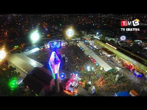 Imagens aéreas do pátio de eventos em Caruaru PE