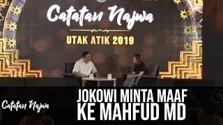Video Catatan Najwa Part 1 - Utak Atik 2019: Jokowi Minta Maaf ke Mahfud MD MP3, 3GP, MP4, WEBM, AVI, FLV April 2019