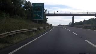 Thrapston United Kingdom  City pictures : UK Motorways - A14 Thrapston west to east