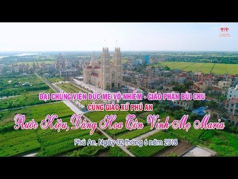Quý cha, quý thầy Đại Chủng Viện Bùi Chu tham dự rước và dâng hoa tại giáo xứ Phú An