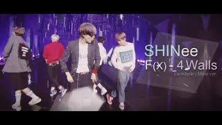 Video SHINee - 4 Walls F(X) | Male ver. | Magic dance MP3, 3GP, MP4, WEBM, AVI, FLV Februari 2018
