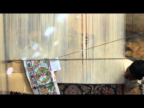 Video for Aros Ivory Rectangular: 5 Ft. x 8 Ft. Rug