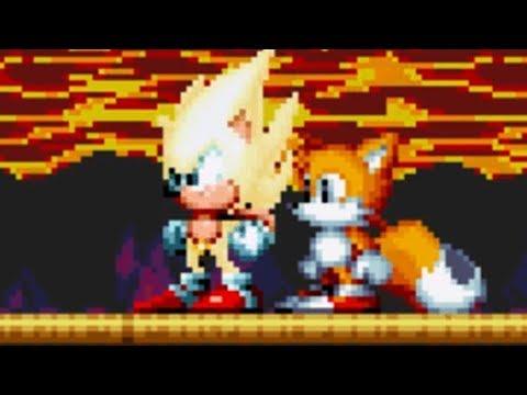 Sonic Mania - SUPER SONIC GAMEPLAY! | Lava Reef Zone (видео)