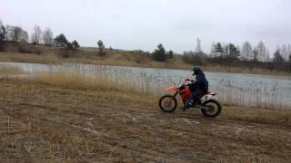 8. first ride with Ktm 525sx 2006