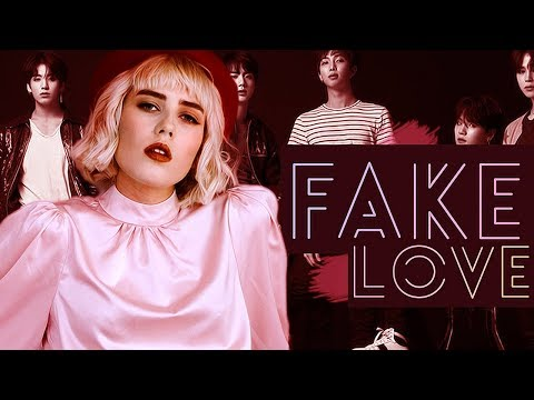 BTS - FAKE LOVE (Russian Cover || На русском) (видео)