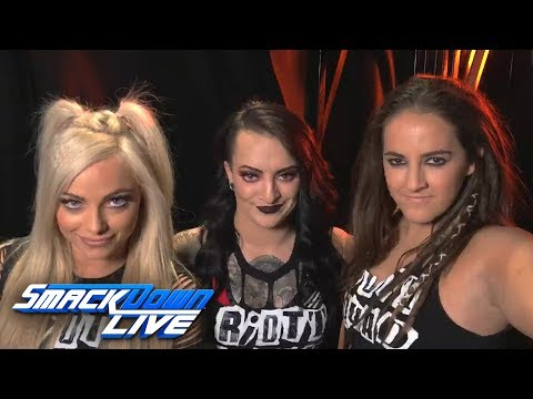 The Riott Squad enter the WrestleMania Women's Battle Royal: SmackDown Exclusive, March 20, 2018