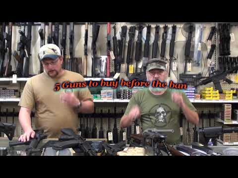 Guns - We aren't saying a ban is absolutely going to happen, but if it were, what would you need to buy to stock up? http://www.atigunstocks.com http://www.youtube....