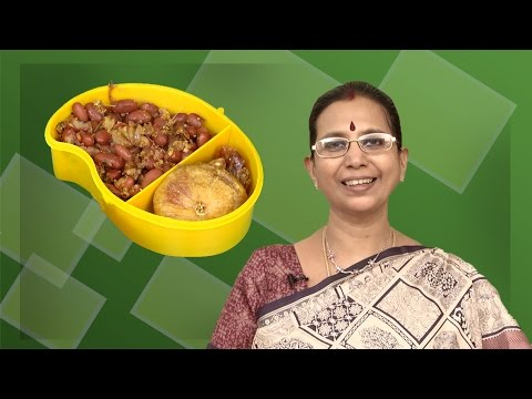 Red Soya Beans Recipe  | Mallika Badrinath | Sundal | Indian Snacks Recipes | Kids Spl