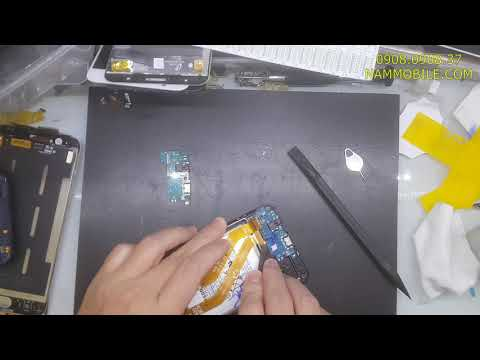 Thay cụm Micro Samsung A20 nói không nghe lấy liền