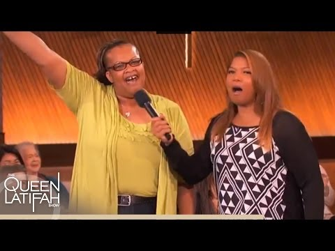 """Olympics Style """"Rap It Up"""" on The Queen Latifah Show"""