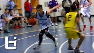 """The New """"White Chocolate"""" 8th grader Jordan McCabe Flashes FILTHY Ball-Handling and Passing Skills"""