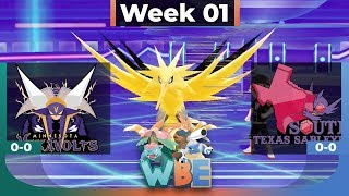 OUR FIRST LET'S GO BATTLE! Minnesota Vikavolts vs South Texas Sableyes! WBE Week 1 - Pokemon LGPE by aDrive