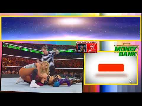 Asuka Vs Carmella Match   WWE Money In The Bank 2018 HD 17 June 6 17 18 Smackdow