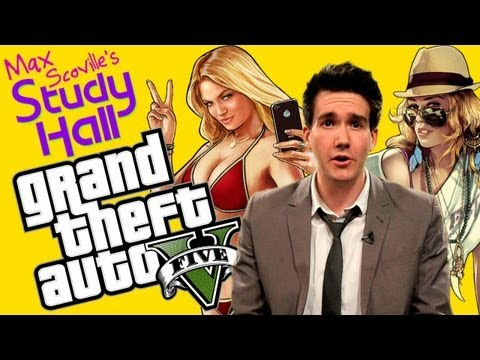 Grand Theft Auto V - MAX SCOVILLE'S STUDY HALL WILL AIR EVERY TUESDAY! SUBSCRIBE NOW!*** On this very special first episode of Max Scoville's Study Hall, Mr. Scoville has prep...