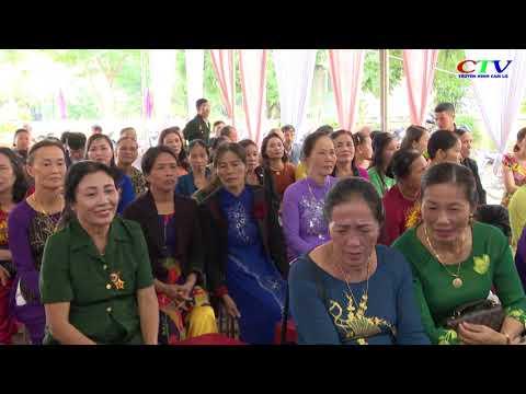 KDC Tân Xuân 2, xã Cam Thành đón nhận NTM kiểu mẫu và ngày hội ĐĐK dân tộc