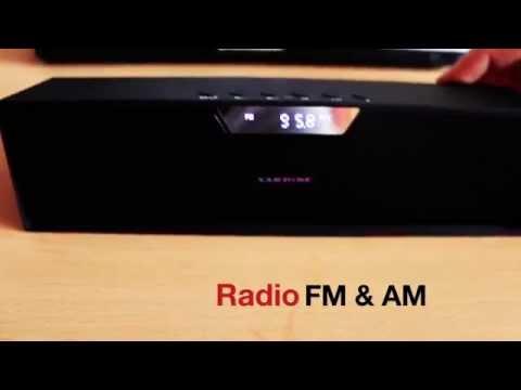 SARDINE SDY019 Super Bass Bluetooth MP3 Radio Stereo Wireless Speaker