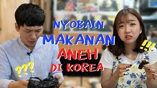 Video NYOBAIN MAKANAN ANEH DI KOREA MP3, 3GP, MP4, WEBM, AVI, FLV Desember 2017