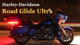 1. H-D Road Glide Ultra Test by MotorcycleTV - Part 1 of 2