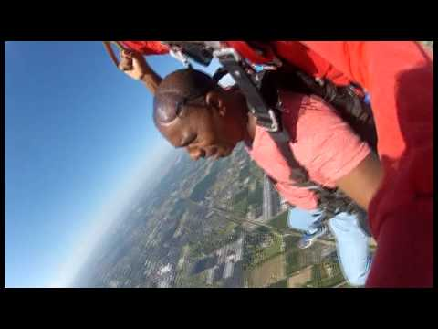 Richard Reese First Sky Dive