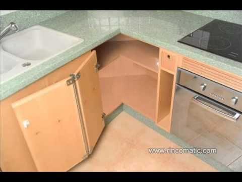 Alacenas para cocina modelos fotos videos videos for Muebles esquineros bajos de cocina