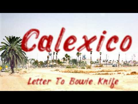 Letter to Bowie Knife