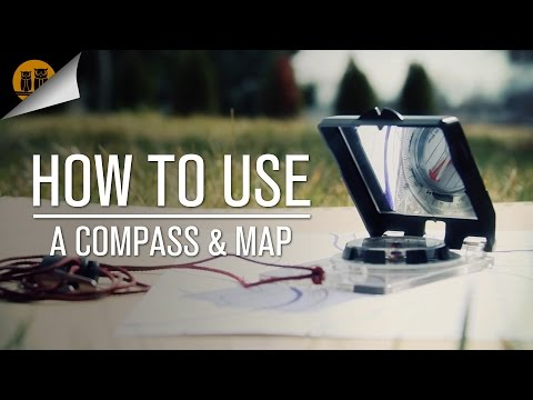 How to Use a Compass & Map • Compass Navigation Tutorial