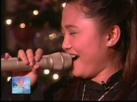 pempengco - Charice Pempengco's first visit to the United States. This is her guest appearance at the Ellen DeGeneres Show, after Ellen invited Charice to the show about...