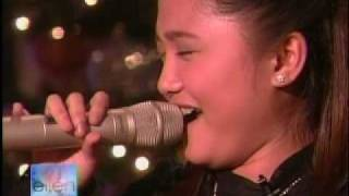 Charice Pempengco on The Ellen DeGeneres Show