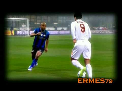 Mirko Vucinic, genio de la AS Roma
