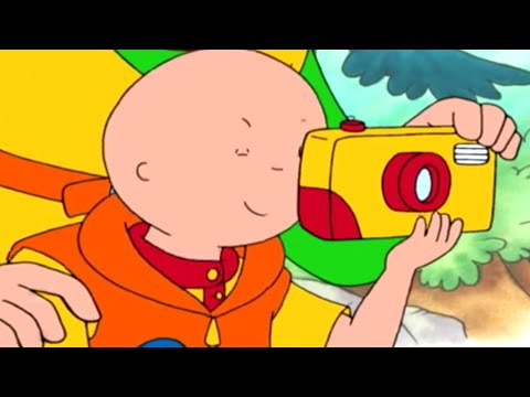 Caillou 302 - Caillou's Coins / Bulldozer / Caillou, the Firefighter / The Timekeeper