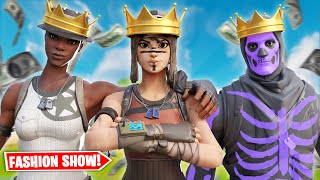 Video WHEN RARE SKINS STREAM SNIPE FORTNITE FASHION SHOWS! download in MP3, 3GP, MP4, WEBM, AVI, FLV January 2017