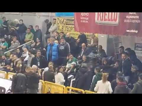 Video - Eπεισόδια μετά τους πανηγυρισμούς στο κλειστό του Αγίου Θωμά - Επιτέθηκαν σε φίλο του Γιαννακόπουλου
