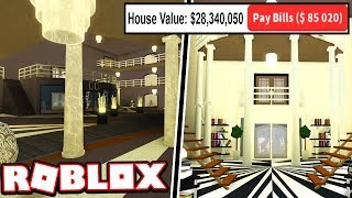 THE FIRST $25 MILLION DOLLAR MANSION IN BLOXBURG!!! | Subscriber Tours (Roblox Bloxburg)